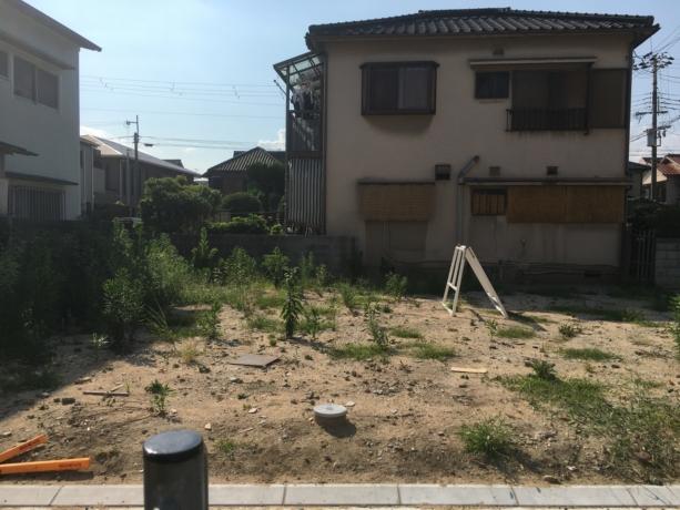 兵庫:甲子園の家 土地