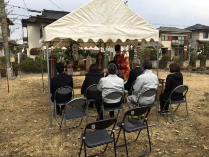 南大阪の家地鎮祭