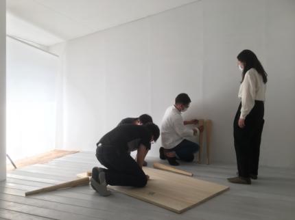 大阪の写真スタジオへ