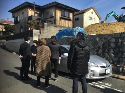 大阪の土地見学