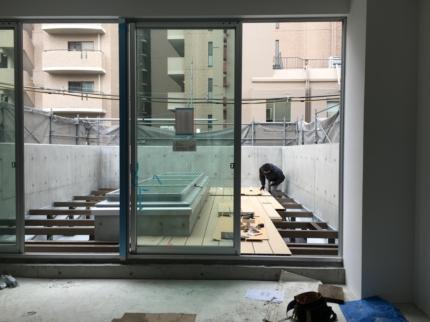 大阪ルーフデッキ施工