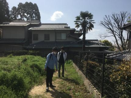 大阪千里土地見学
