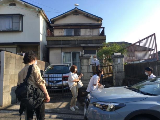 大阪の堺の家