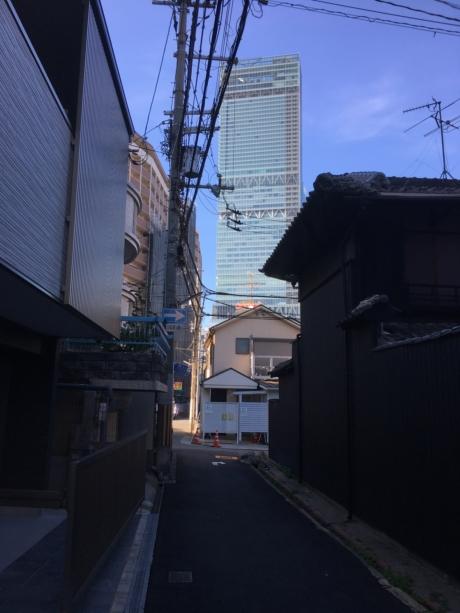 大阪市内の土地見学