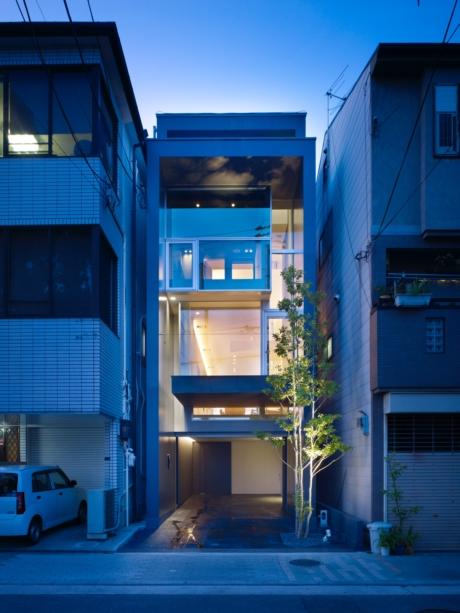 大阪東住吉のガレージハウス