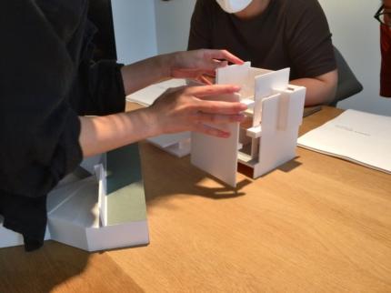 奈良京終の家 模型