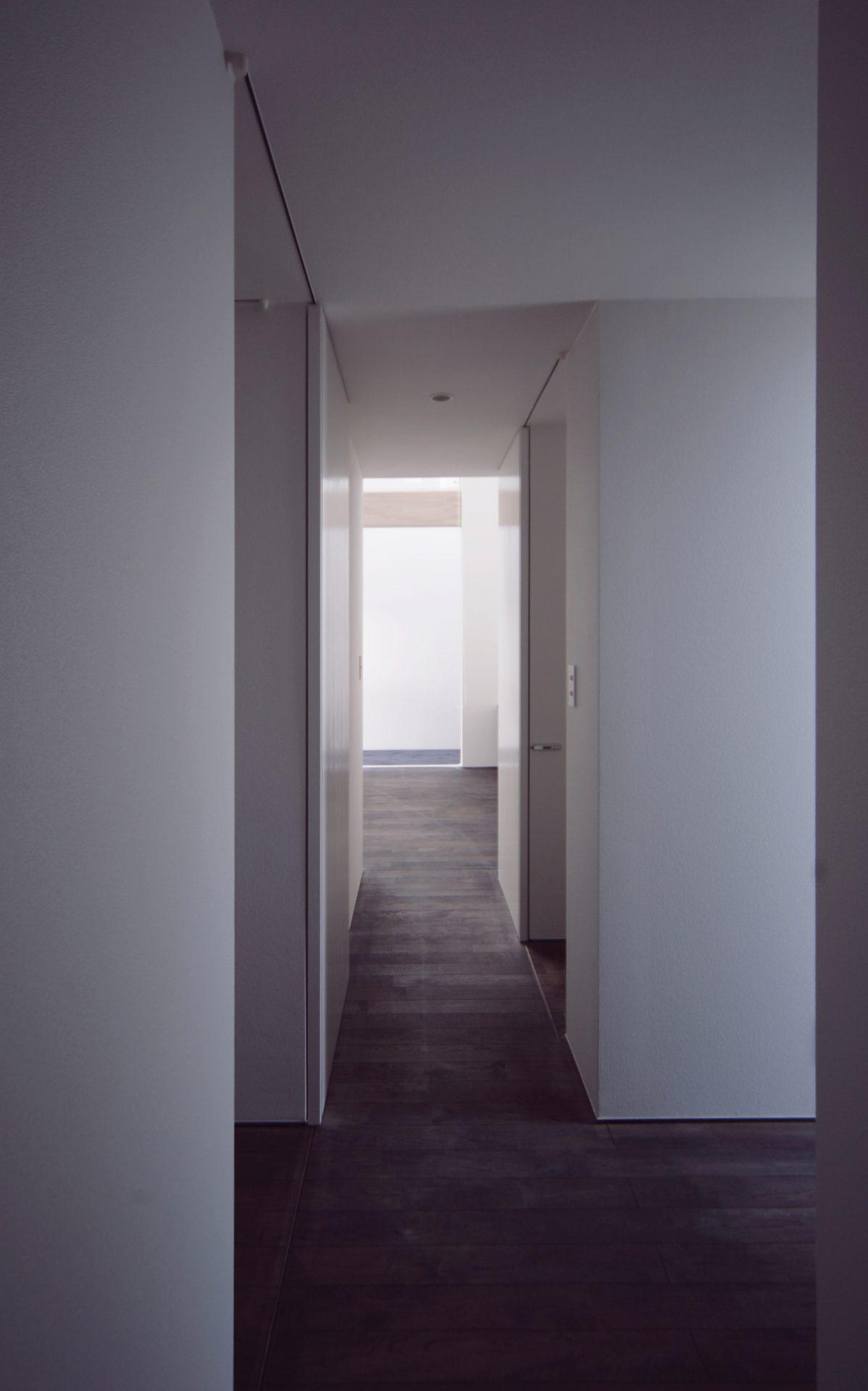 三重伊賀の家の廊下