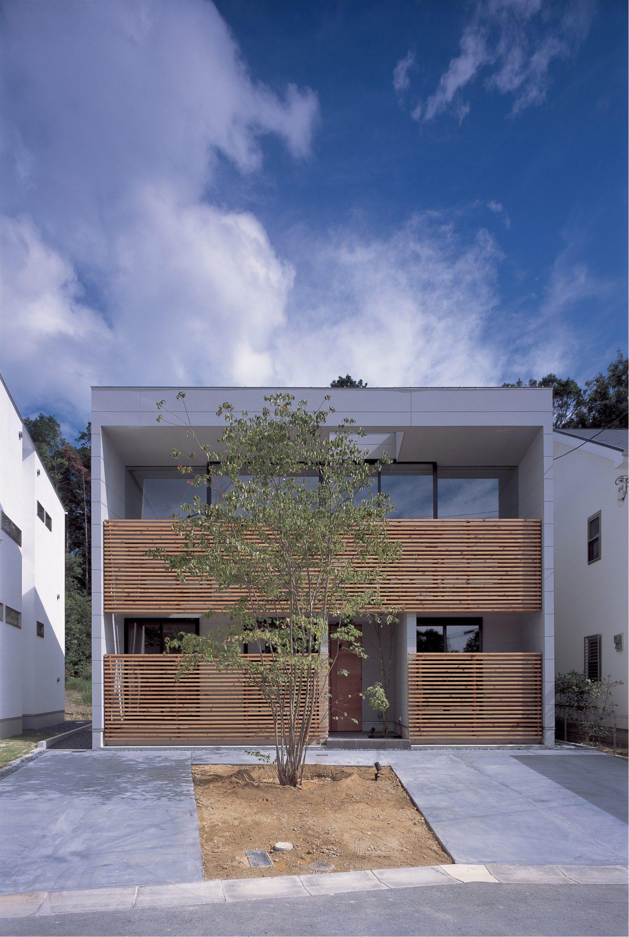 奈良登美ヶ丘の家の外観