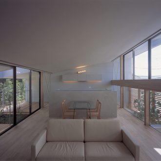 奈良登美ヶ丘の家のLDK01