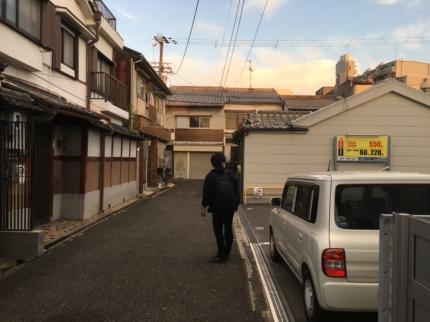 東大阪に敷地見学