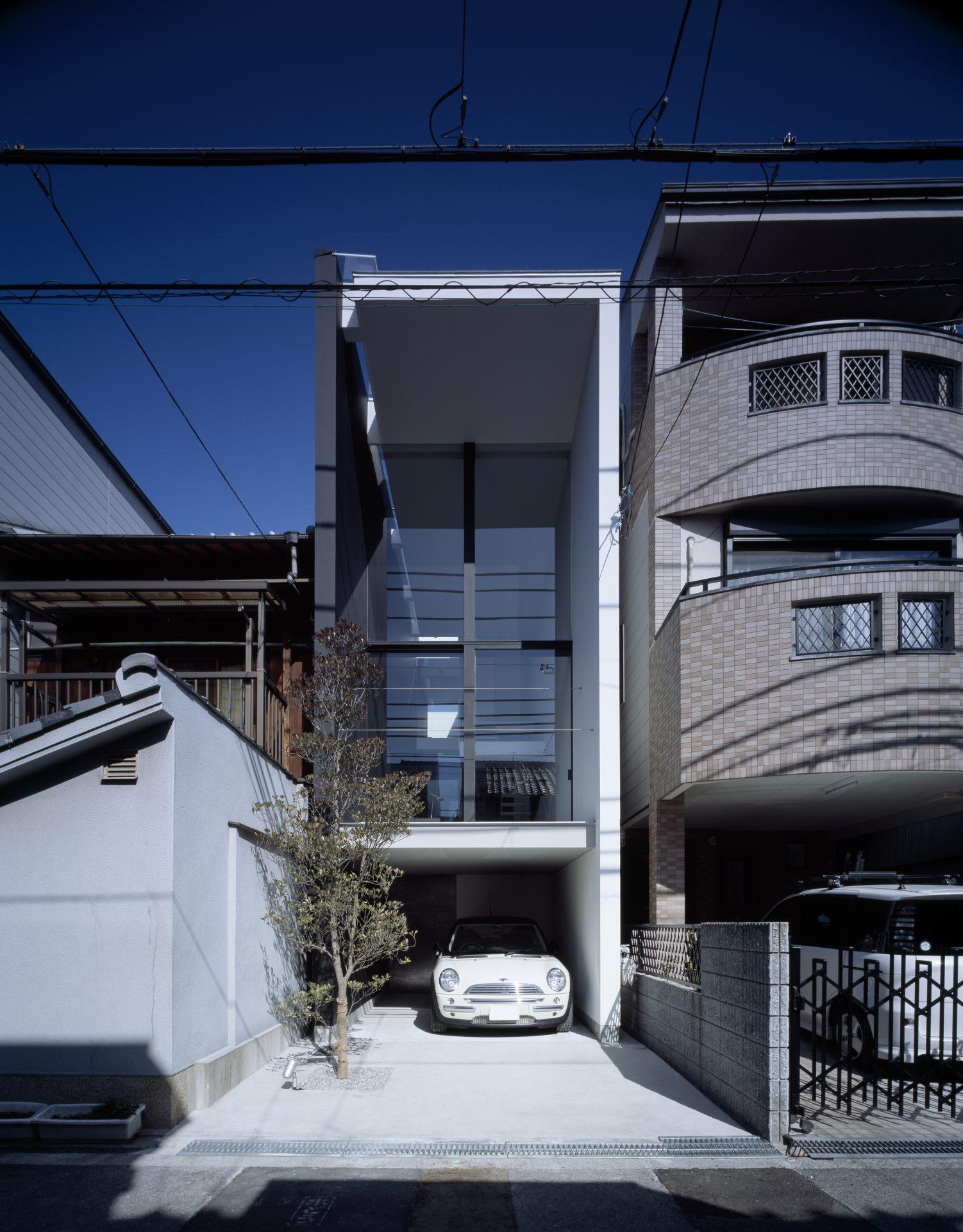 大阪昭和町の家の外観01
