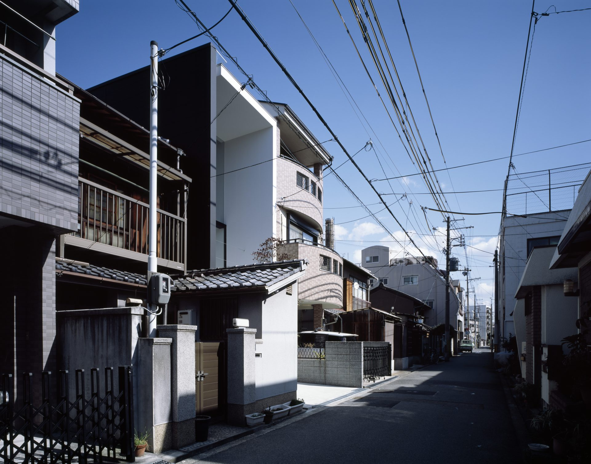 大阪昭和町の家の外観02