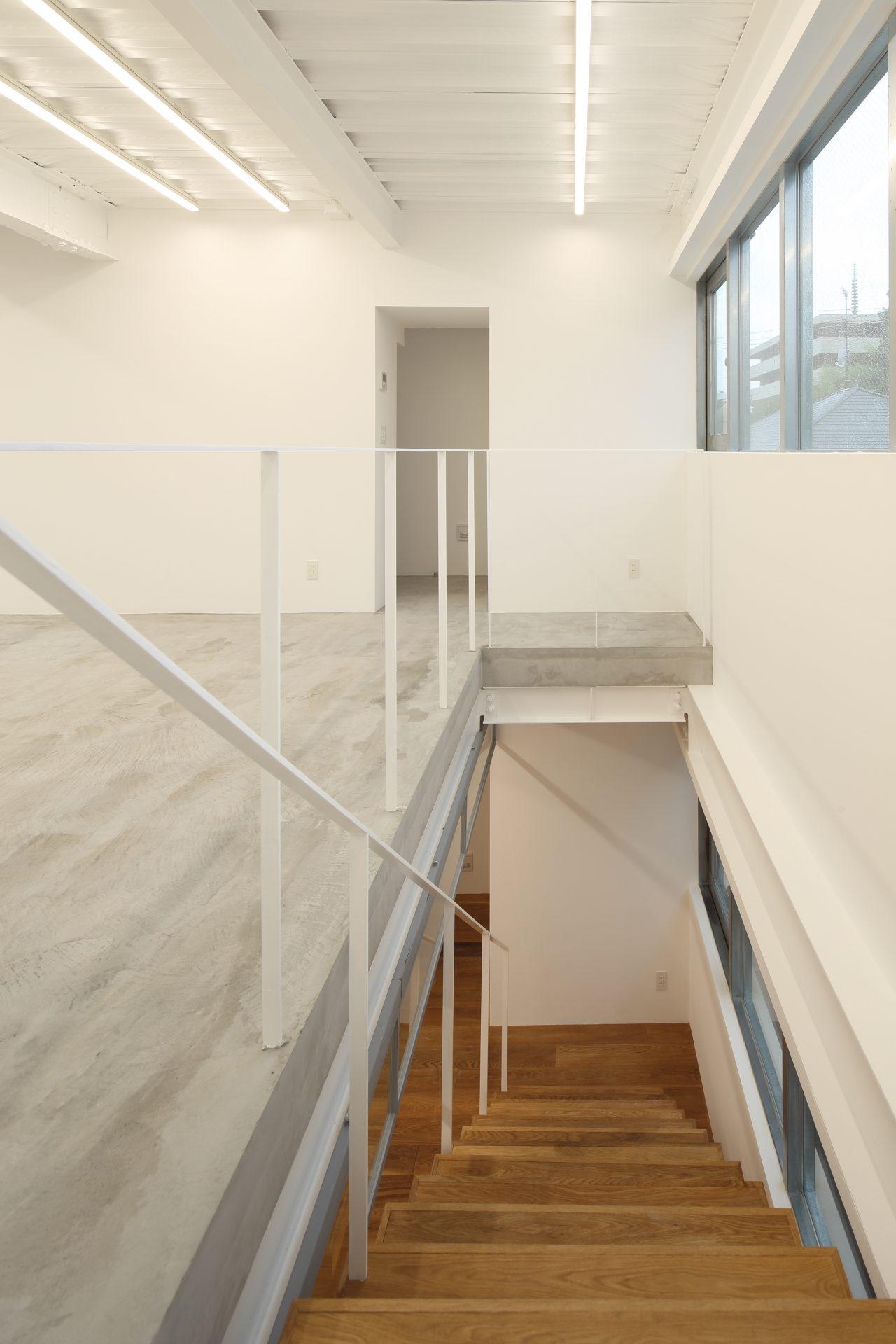 東京Studio AMBIDEXの階段