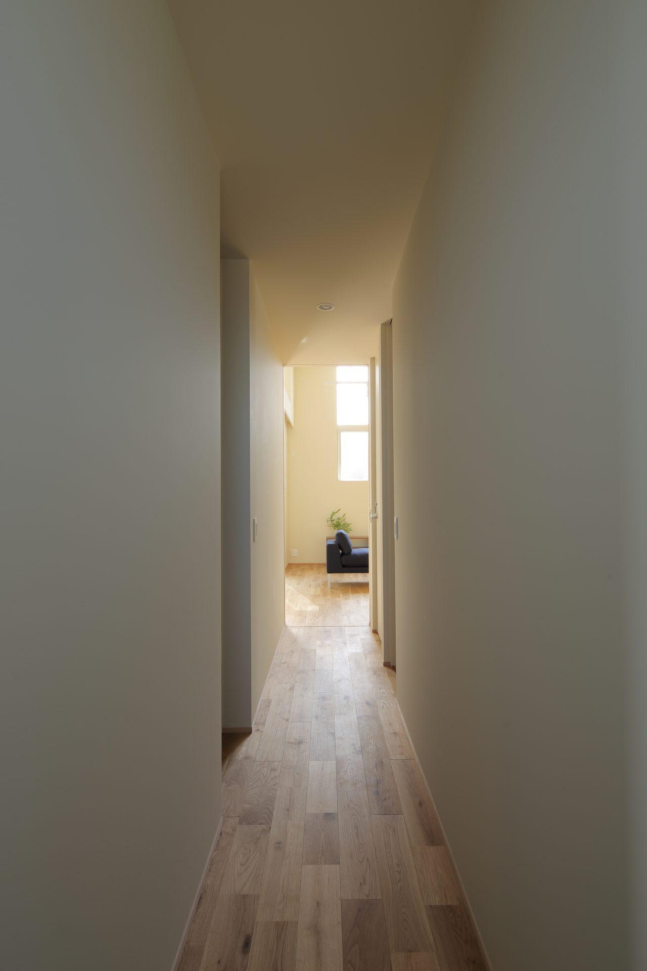 大阪玉串元町アパートメントの廊下