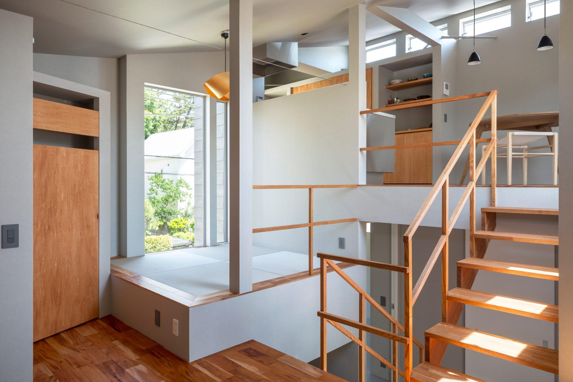 兵庫夙川の家の和室