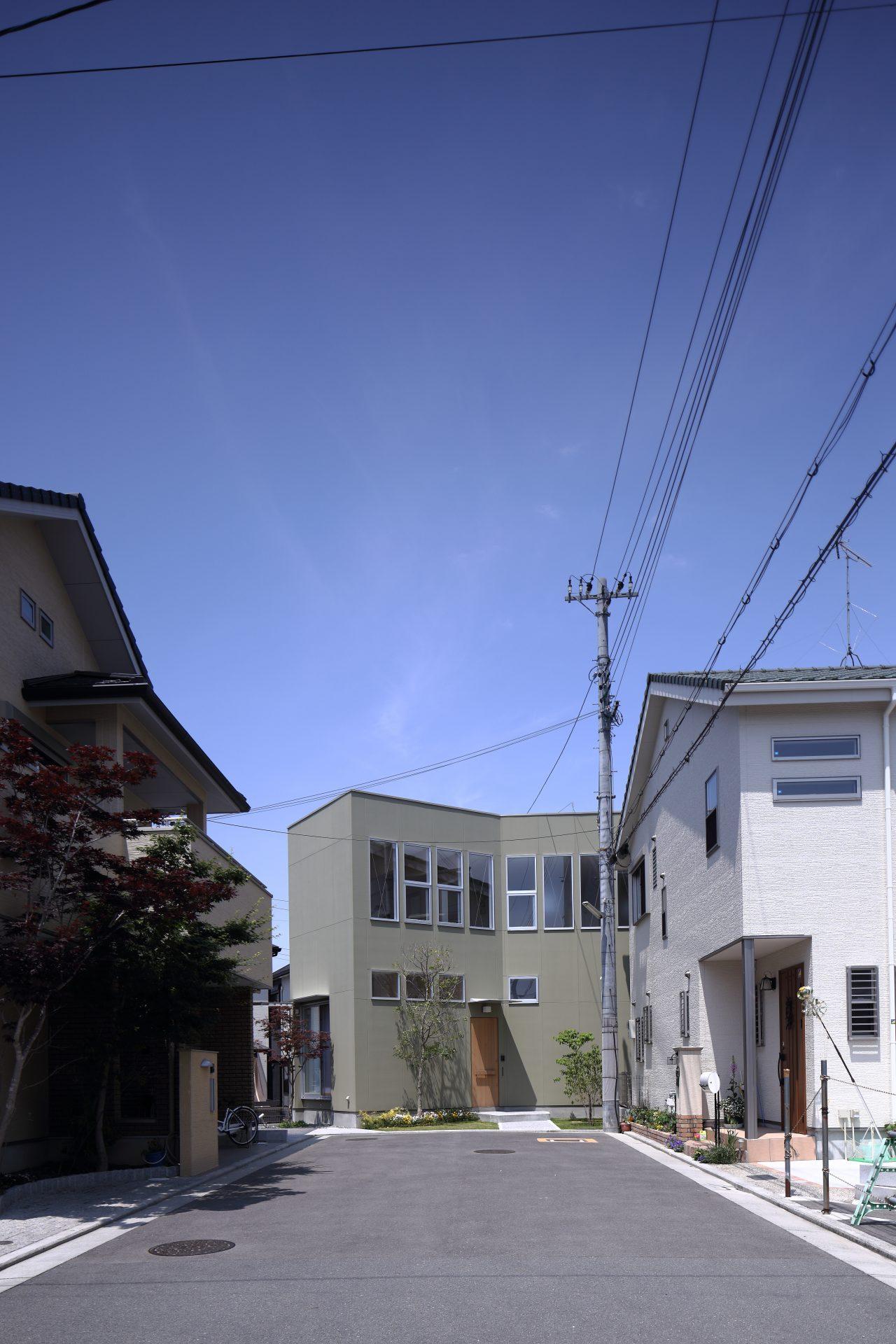 大阪北野田の家の外観