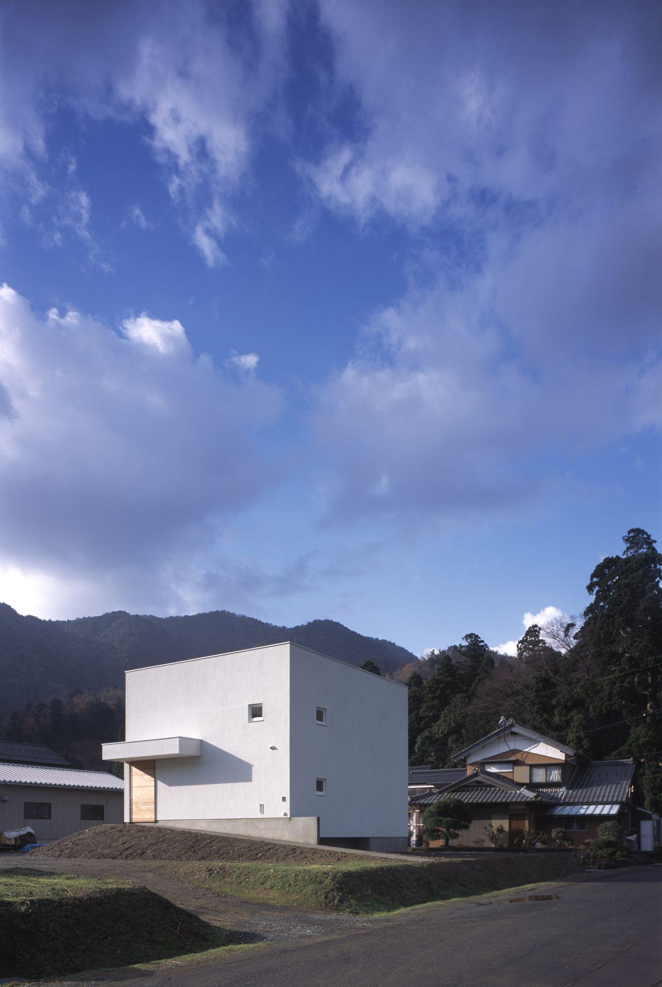 福井小浜の家の外観