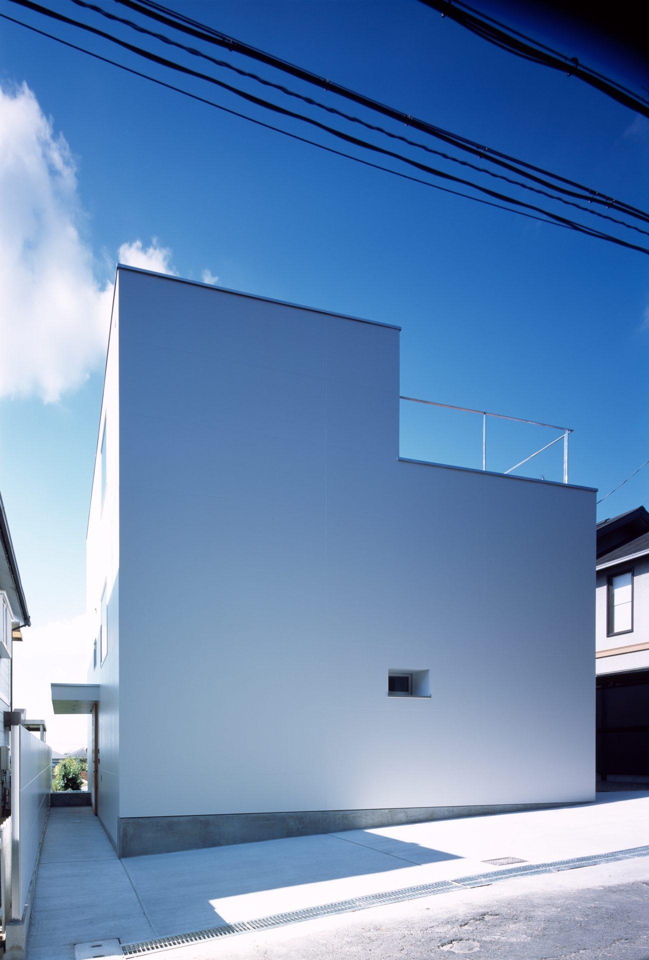 大阪香里園の家の外観