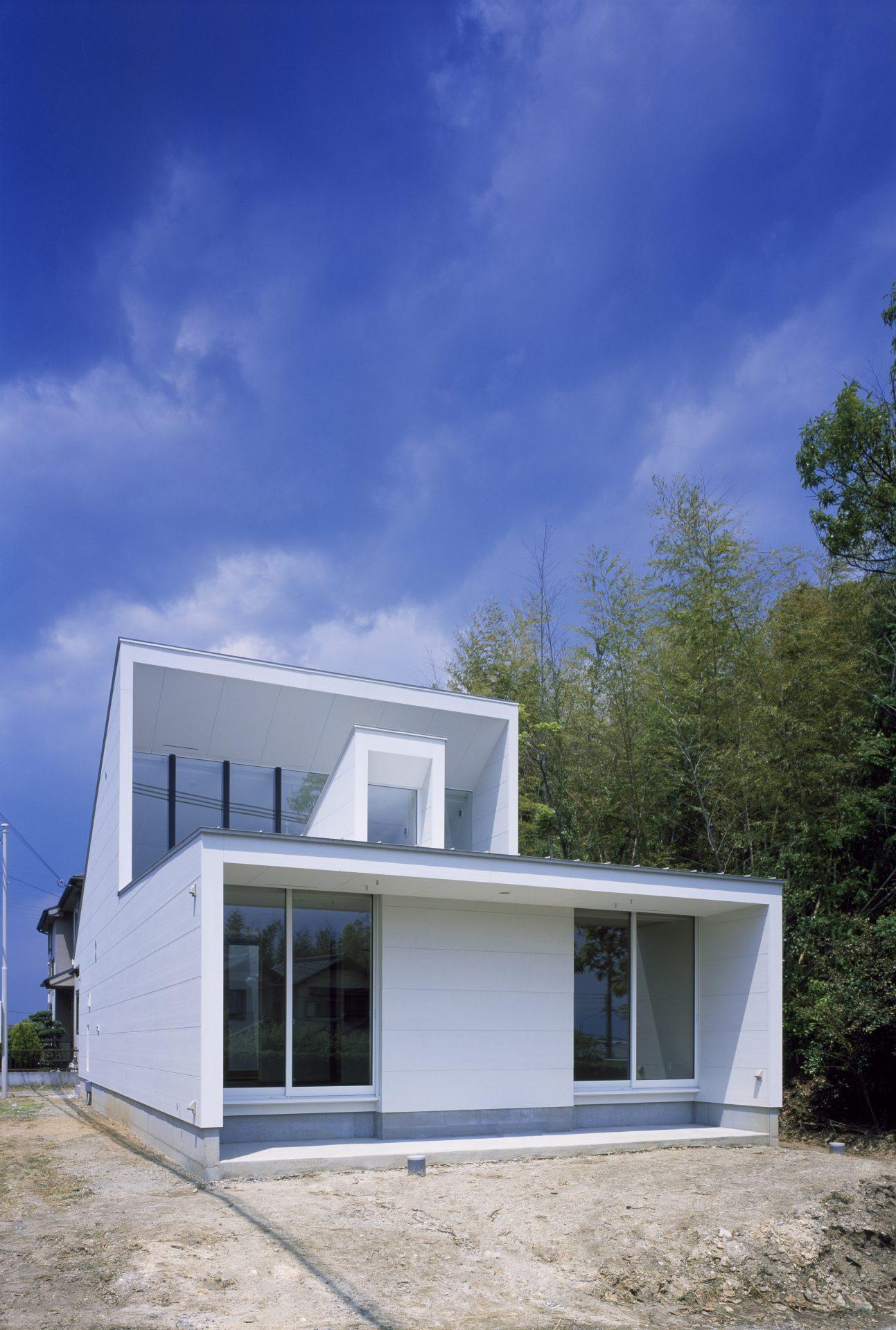 奈良大和郡山の家の外観