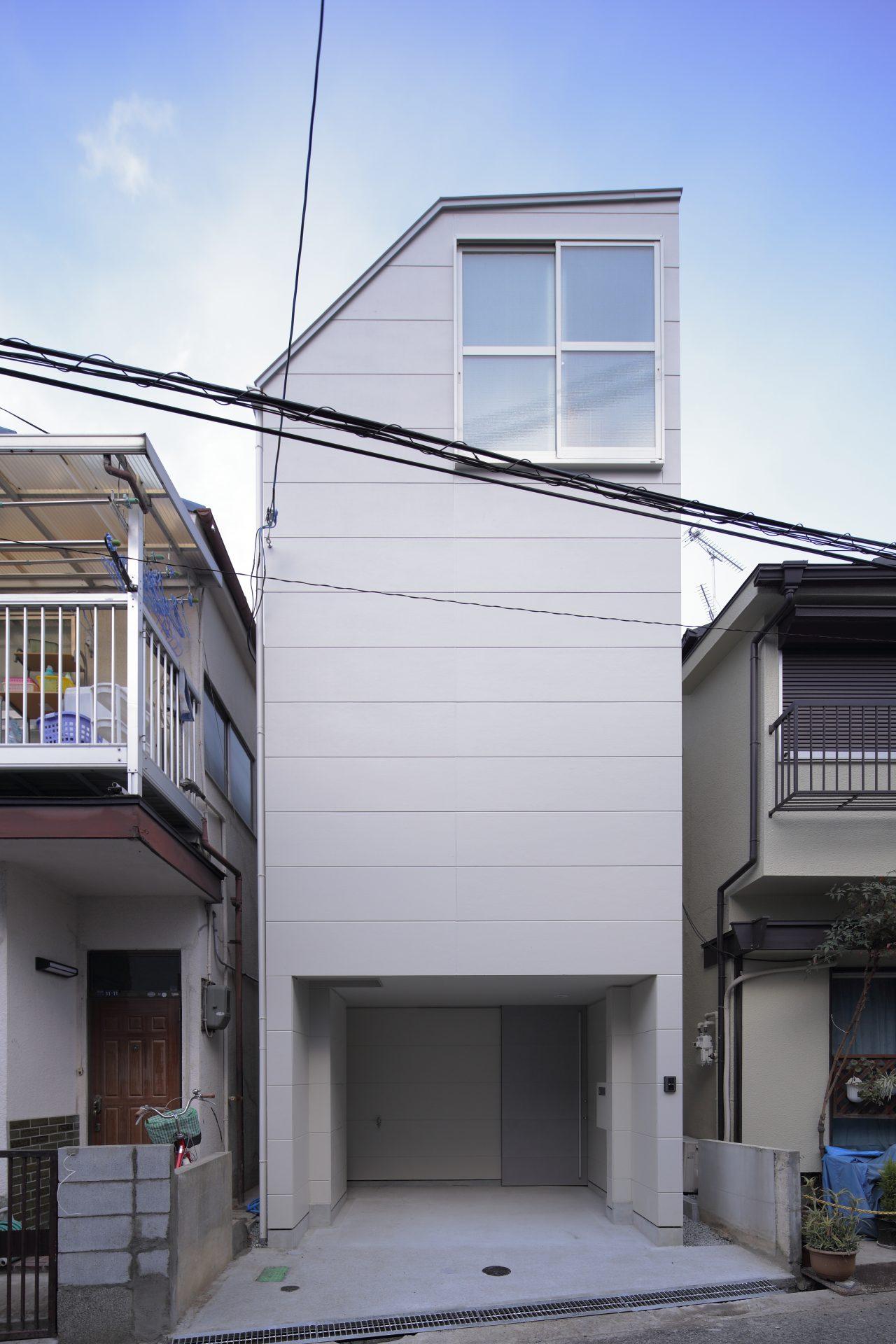 兵庫塚口の家の外観
