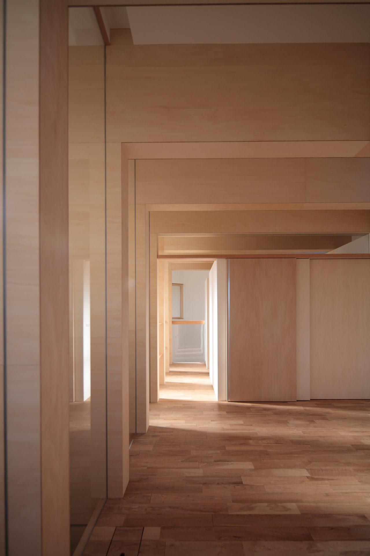 大阪北野田の家の寝室02