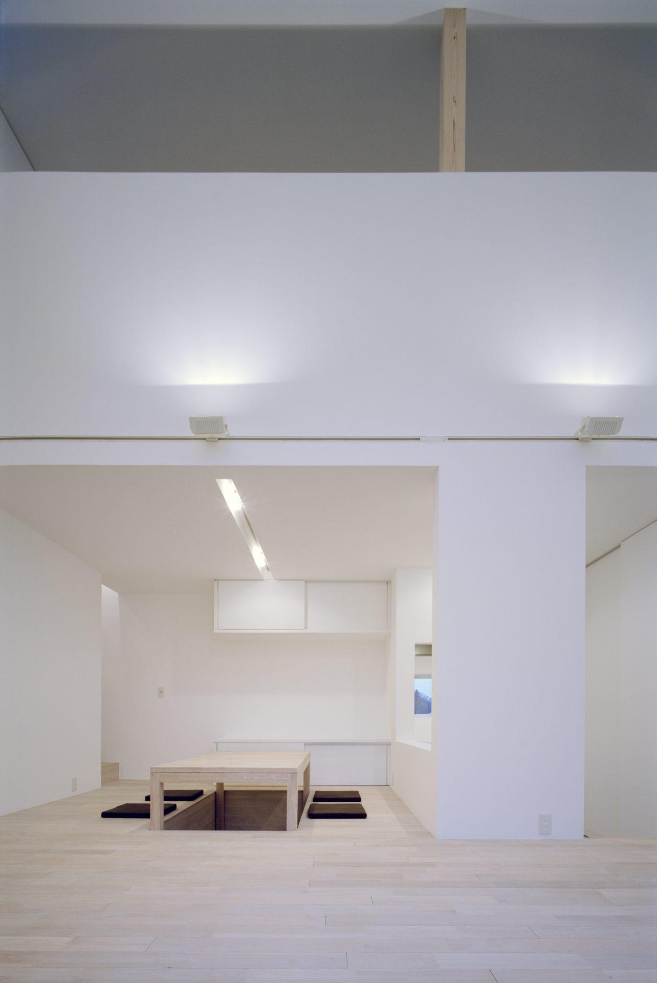 福井小浜の家のリビング02