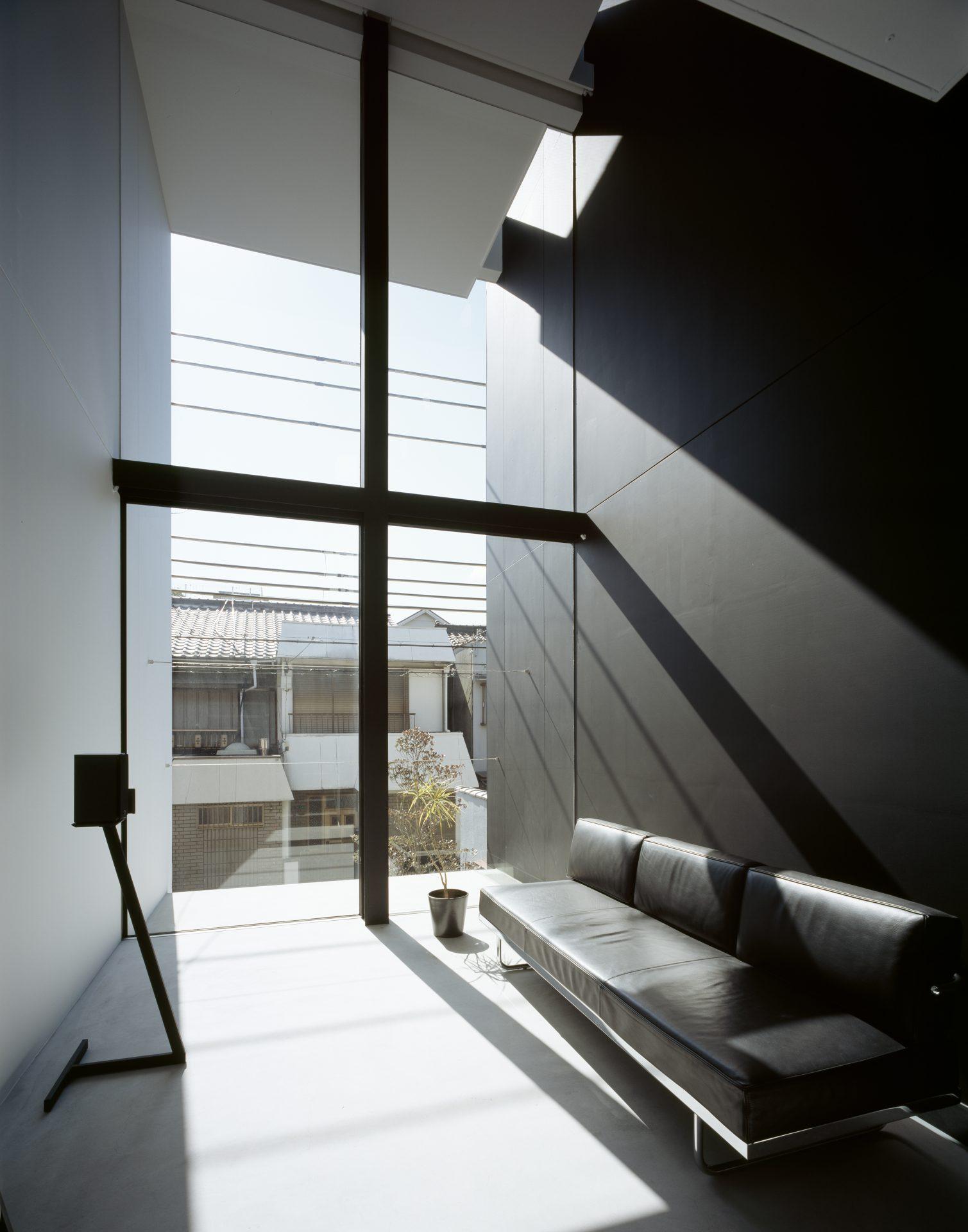大阪昭和町の家のリビング02