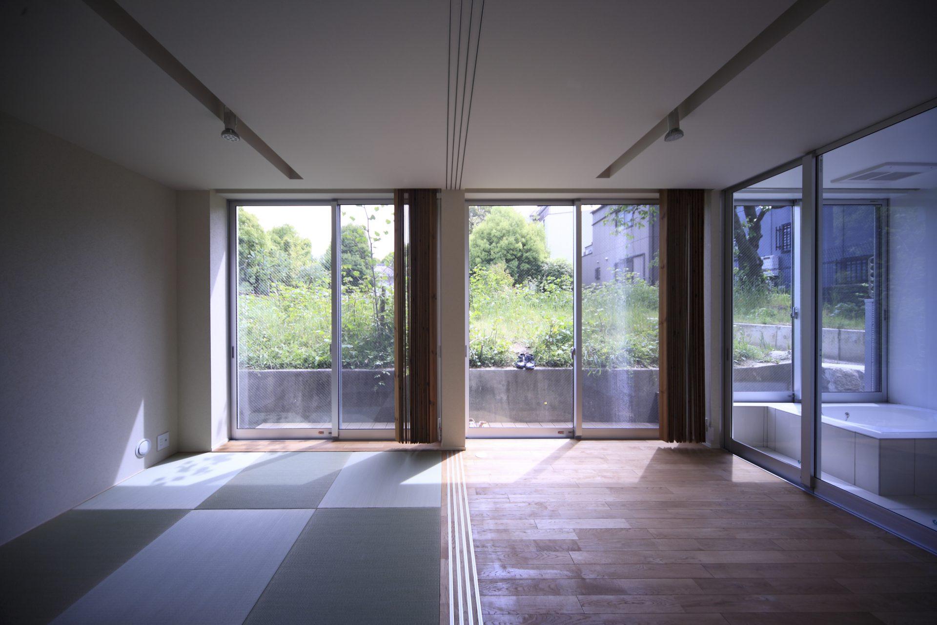 大阪天王寺の家の和室