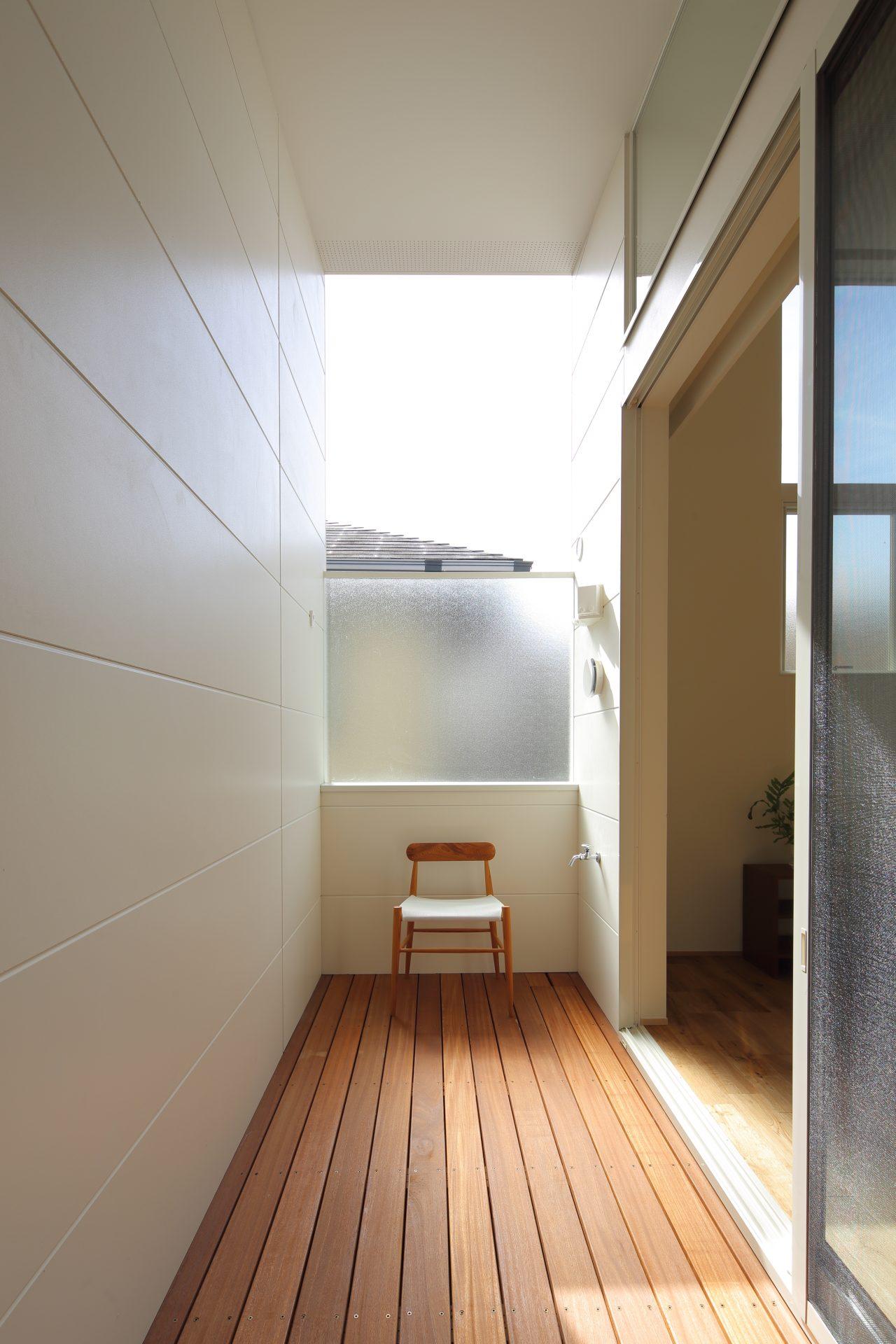 大阪玉串元町アパートメントのバルコニー02