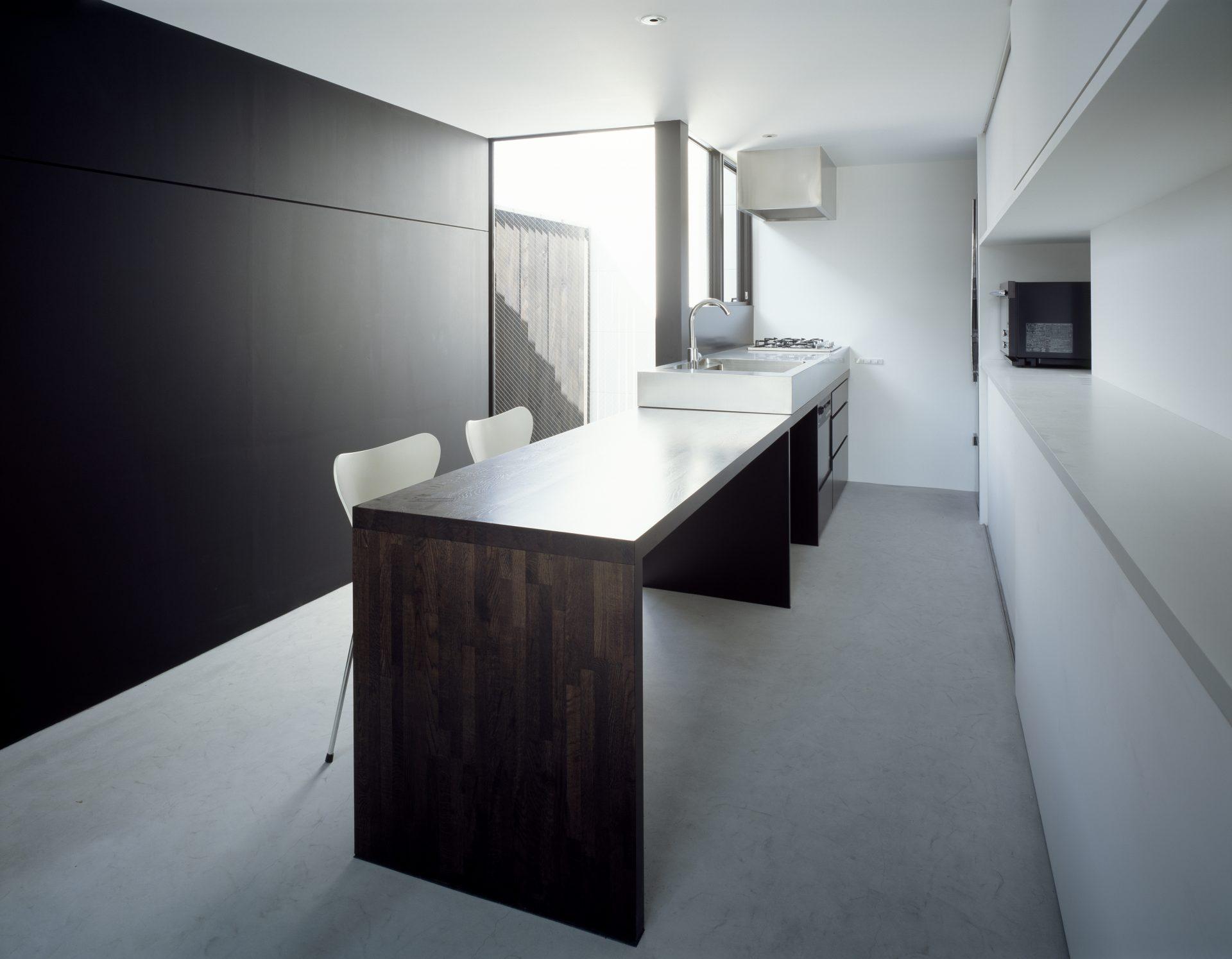 大阪昭和町の家のダイニングキッチン01