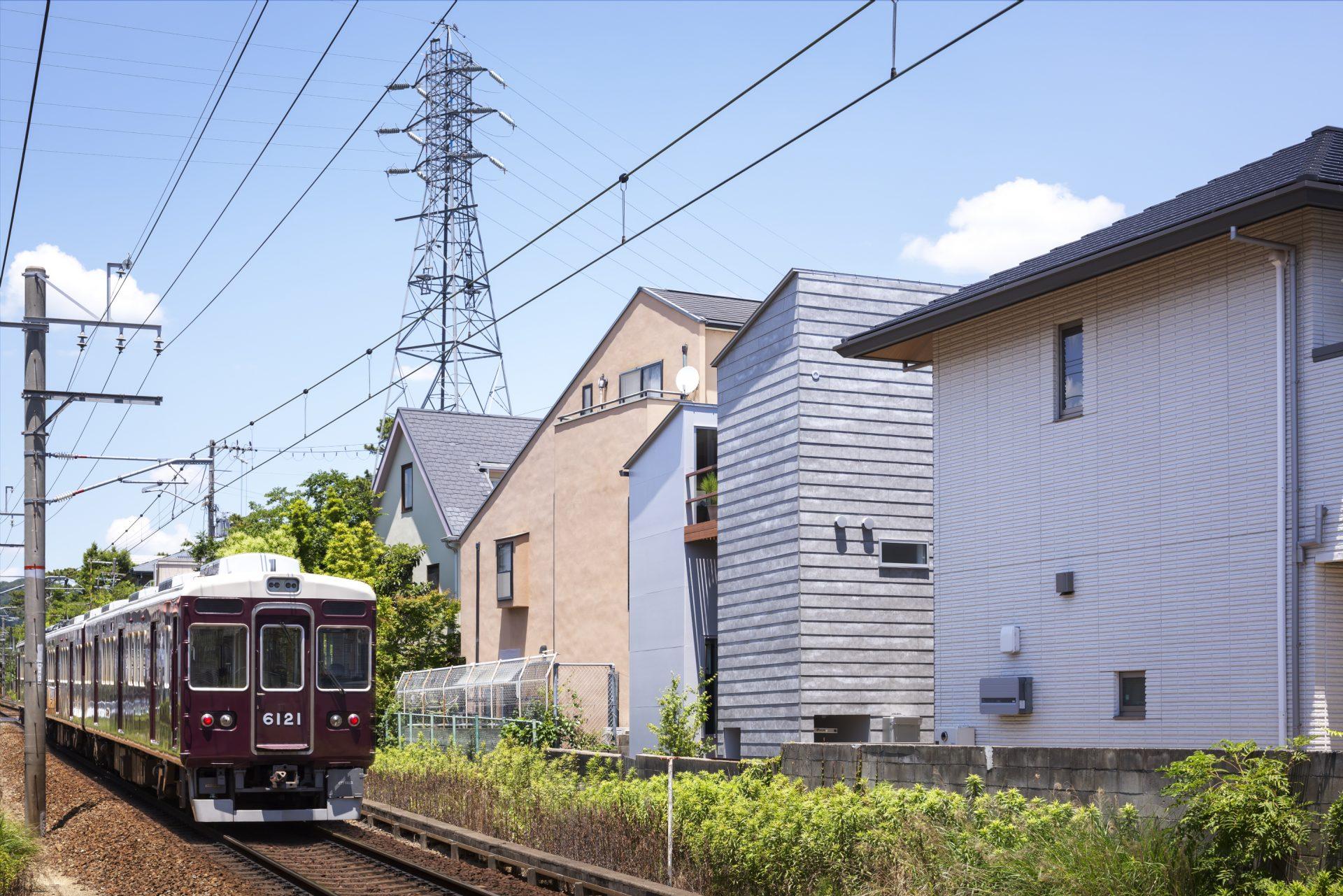 兵庫夙川の家の外観04
