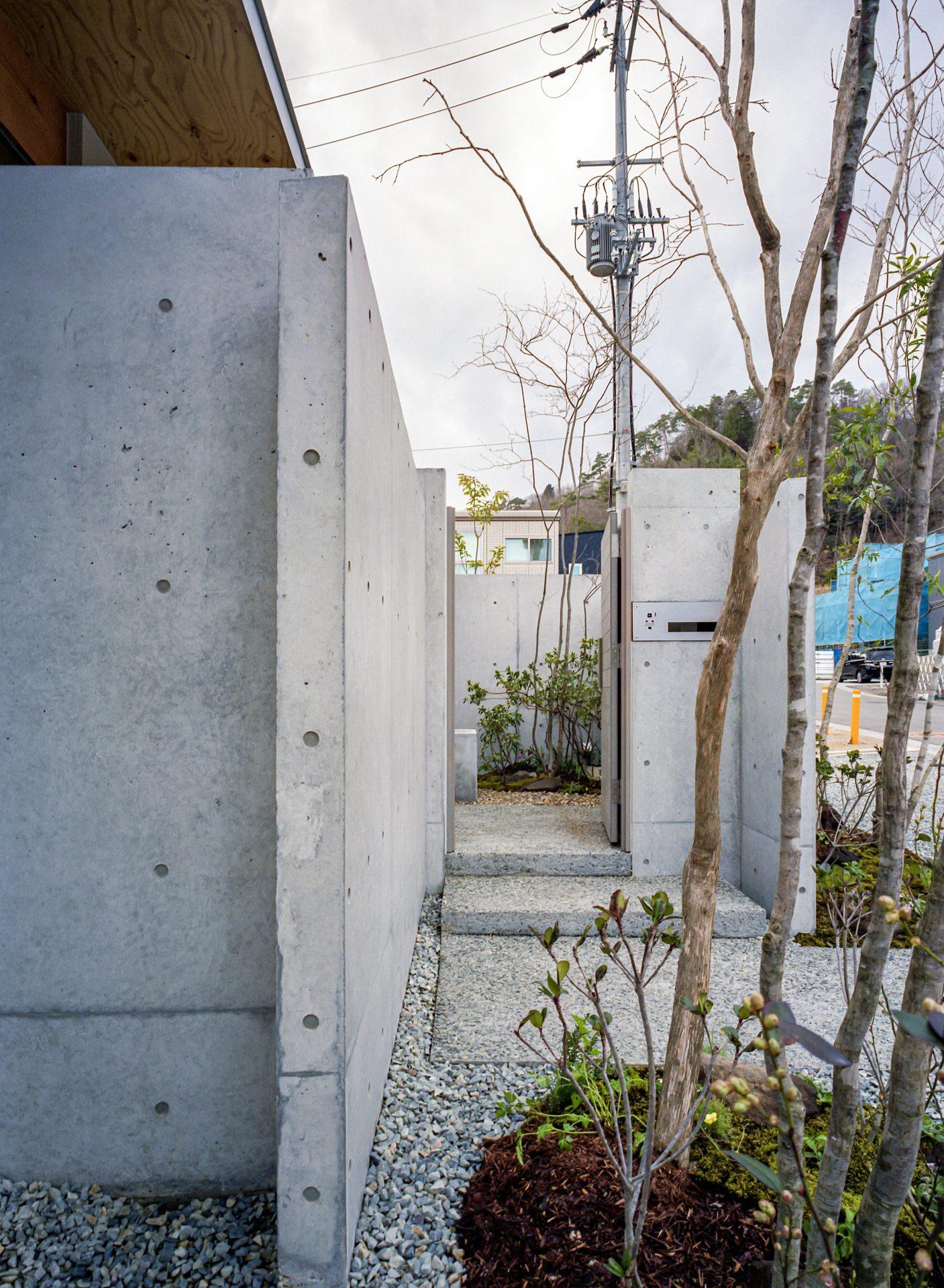 大阪箕面森町の家の外観5
