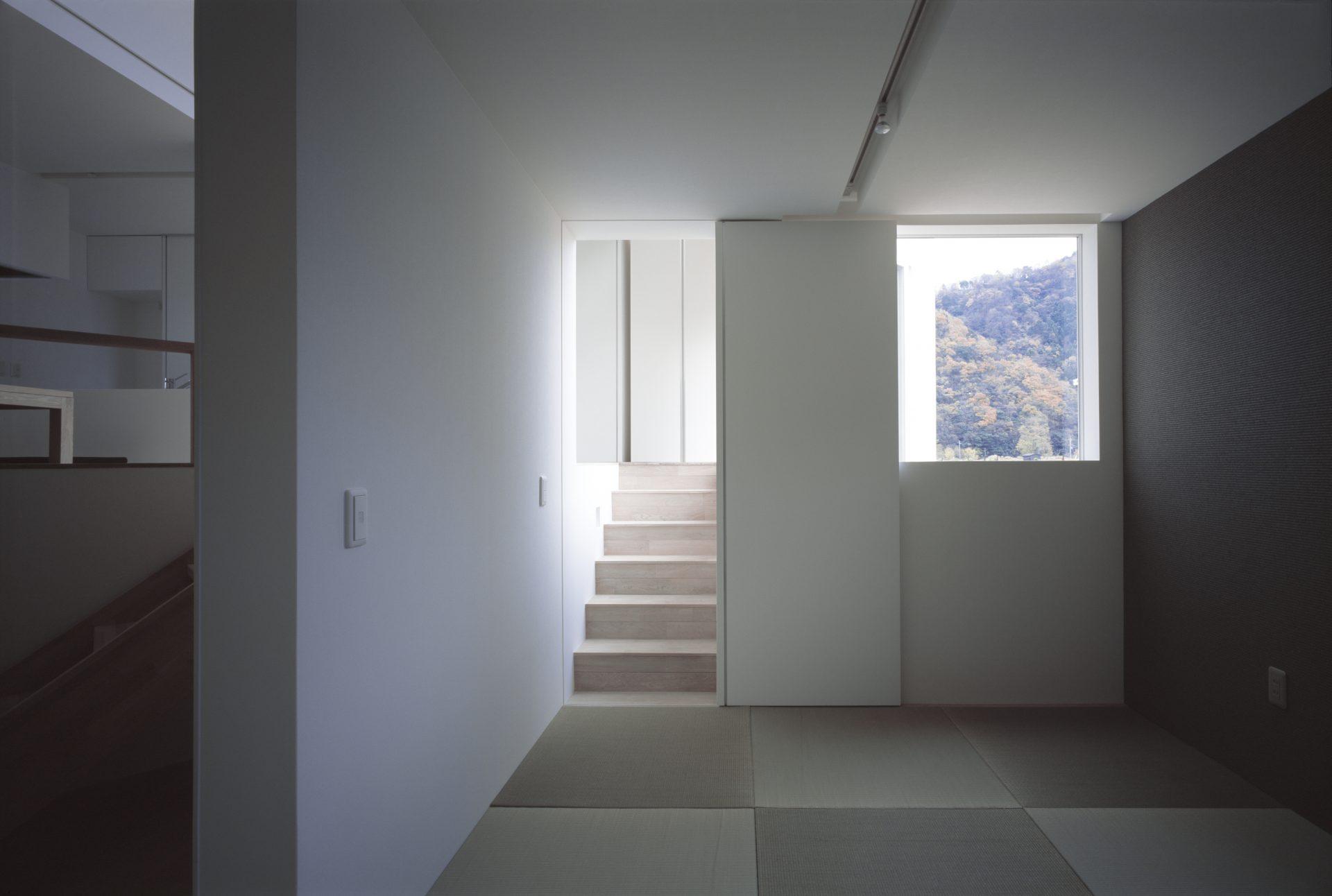 福井小浜の家の和室