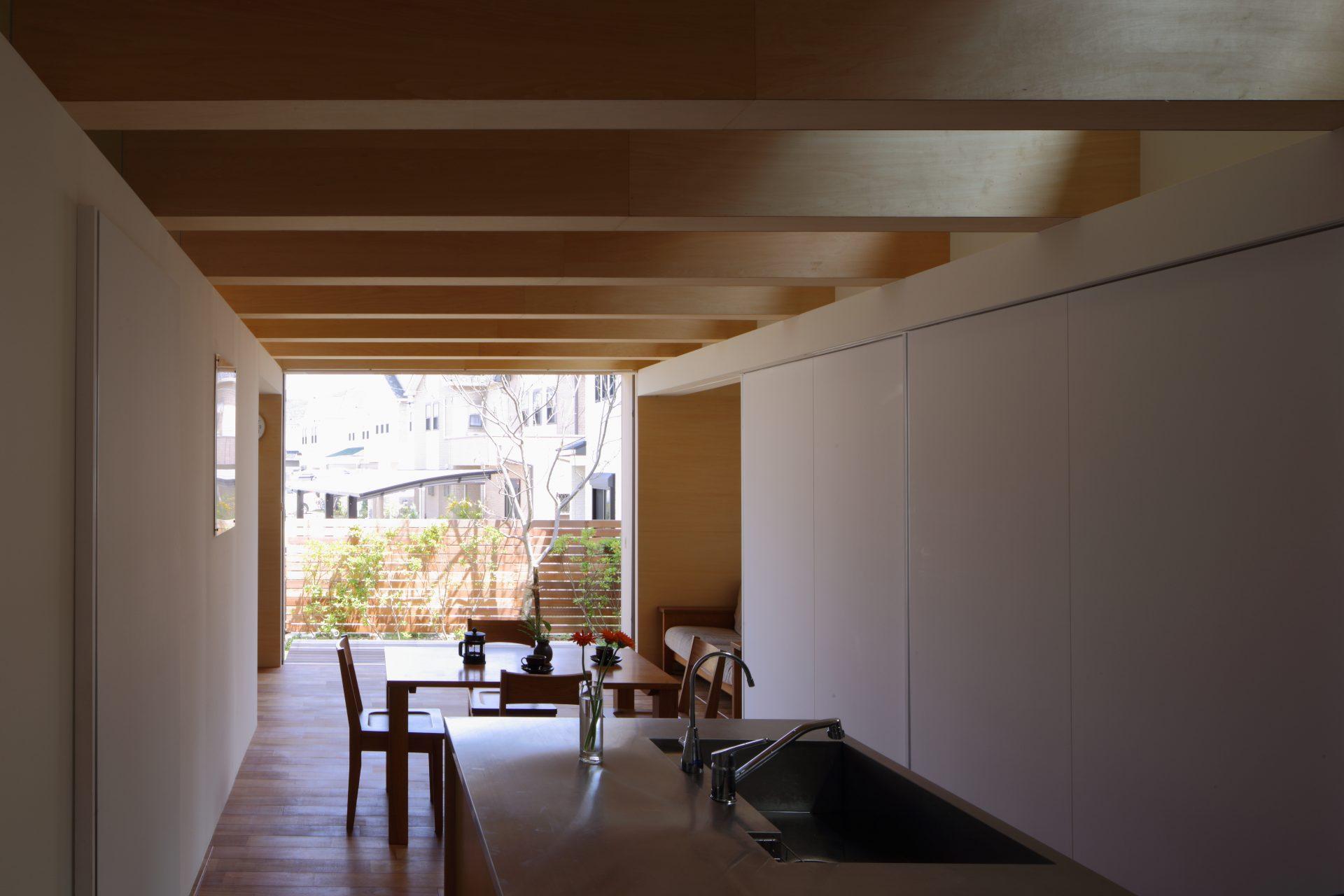 大阪北野田の家のLDK01