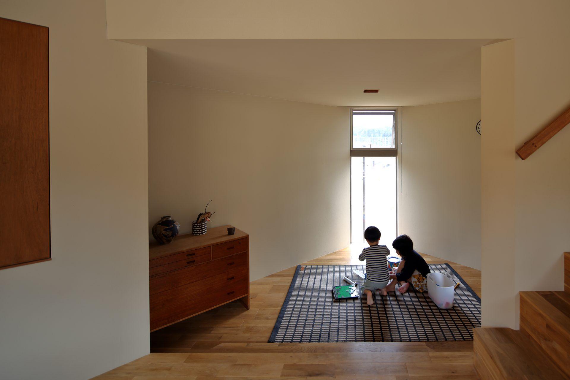 兵庫神戸北の家のリビング