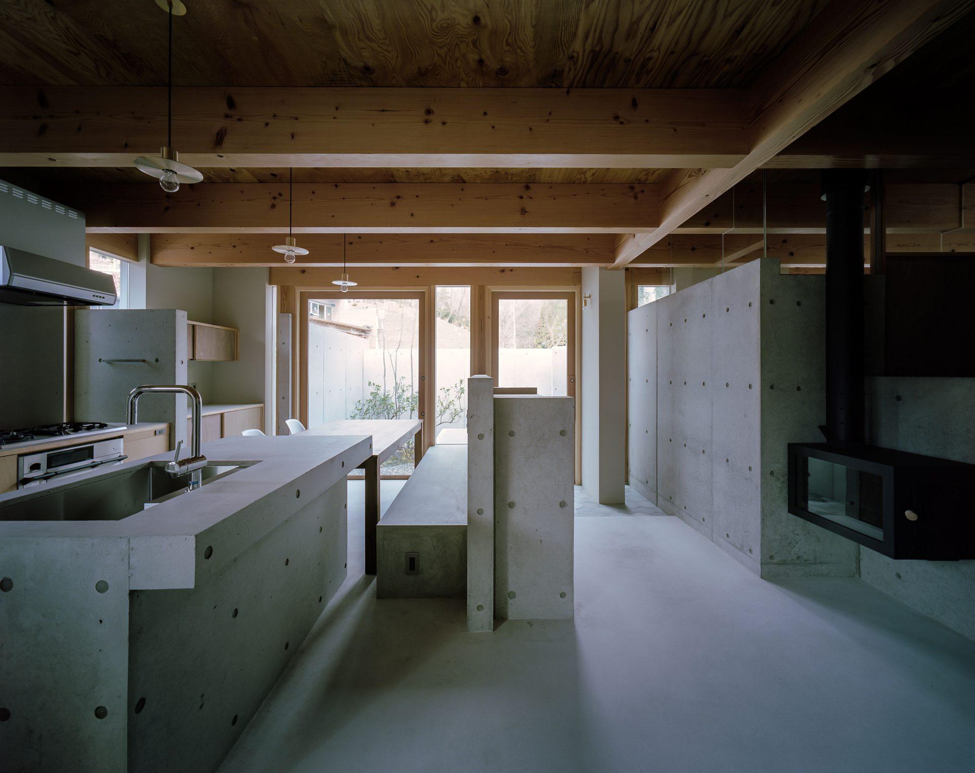 大阪箕面森町の家のキッチン1