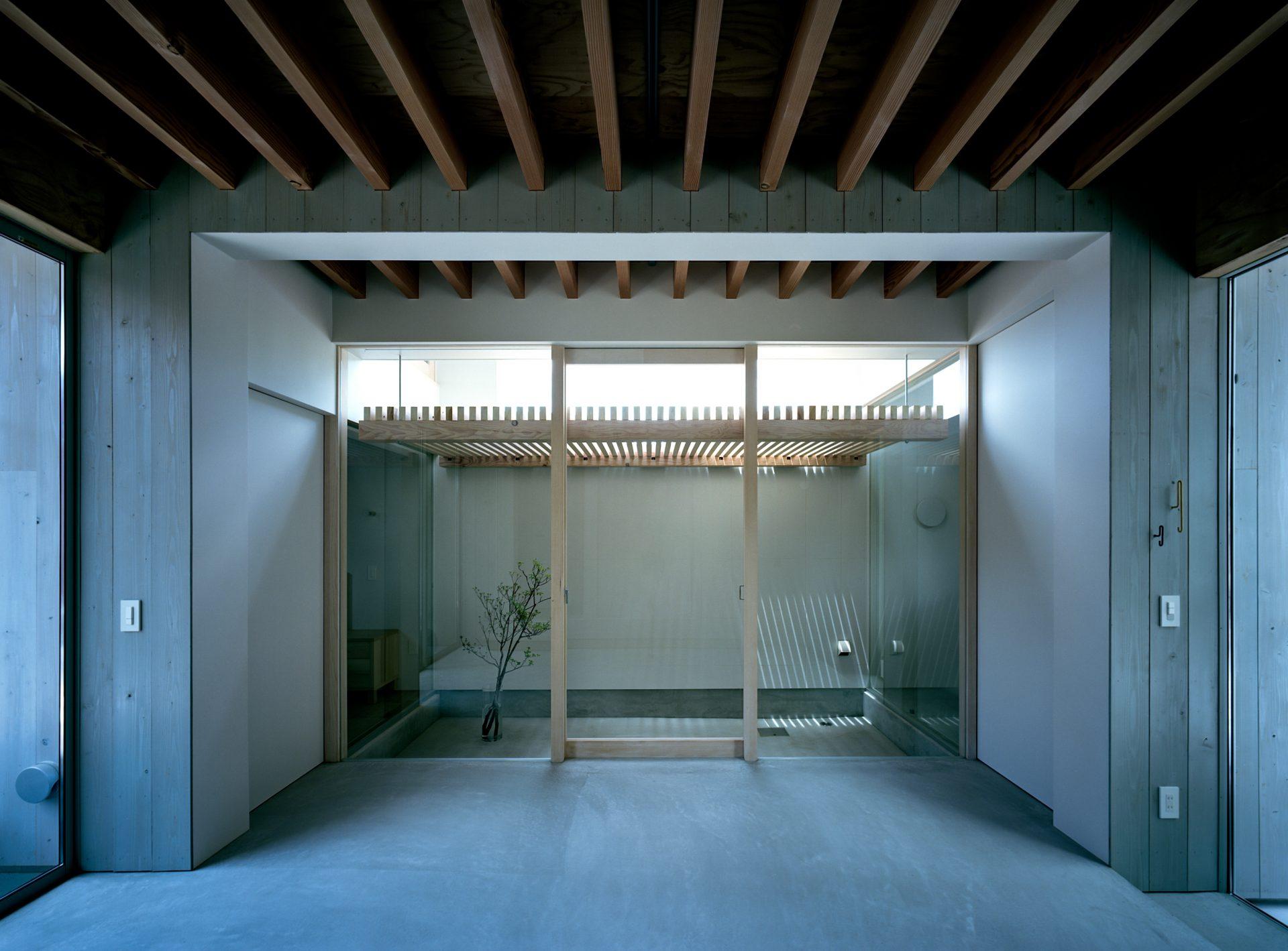 兵庫姫路の家の土間01