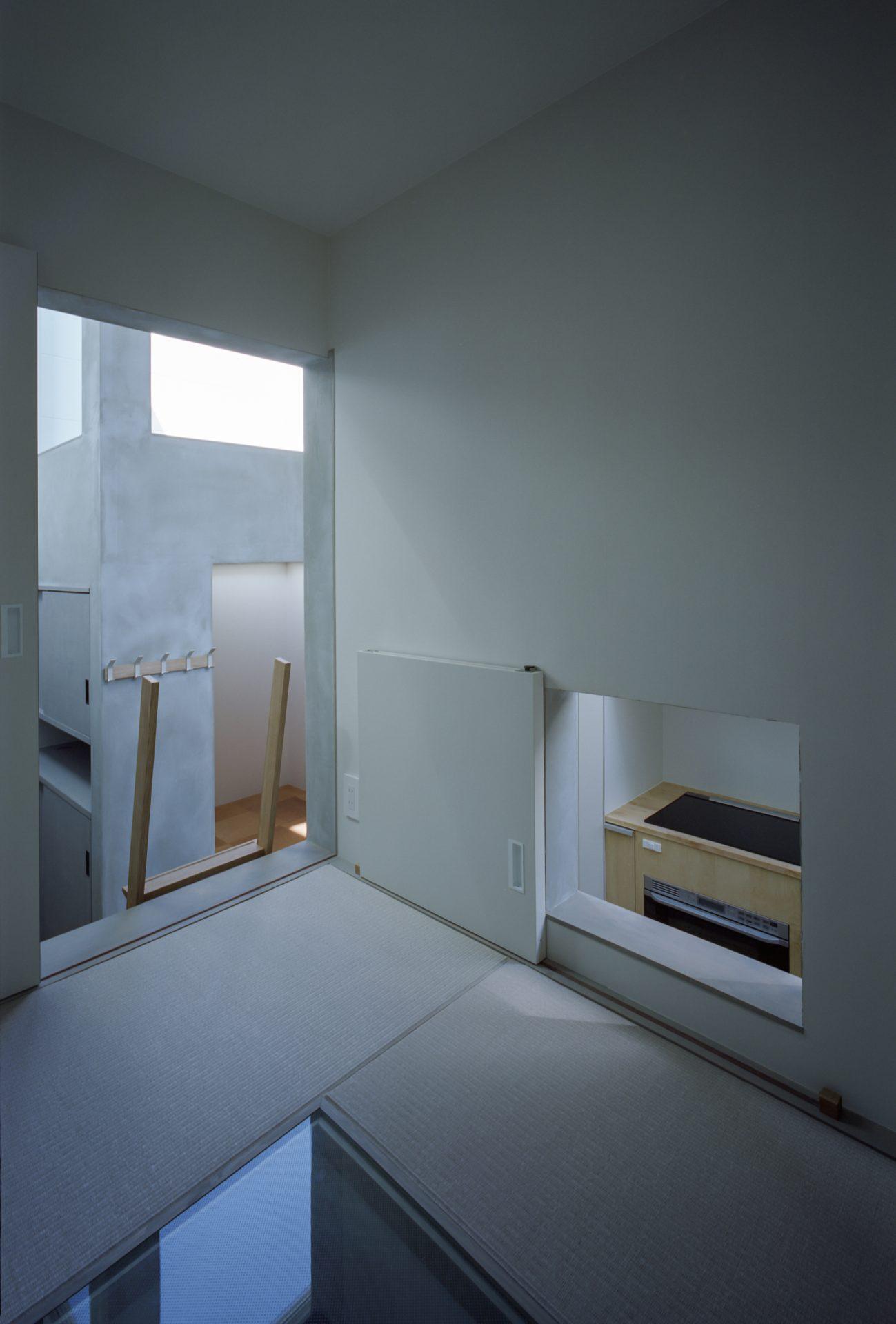 兵庫光のヴォイドのある家の畳室02