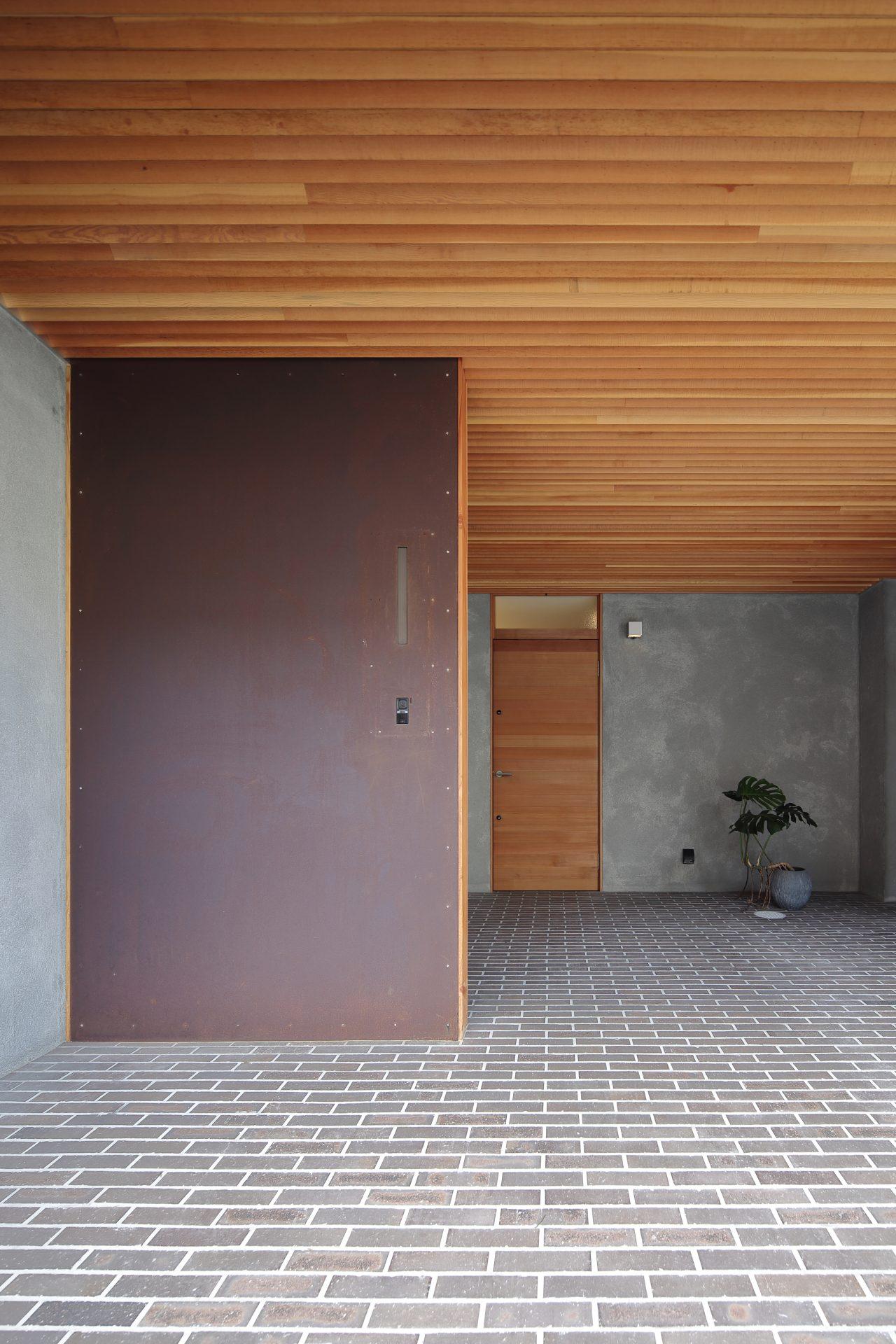 兵庫西宮のリノベーションの玄関