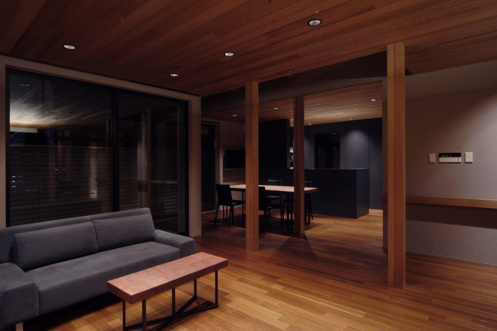 大阪弥刀の家のLDK01