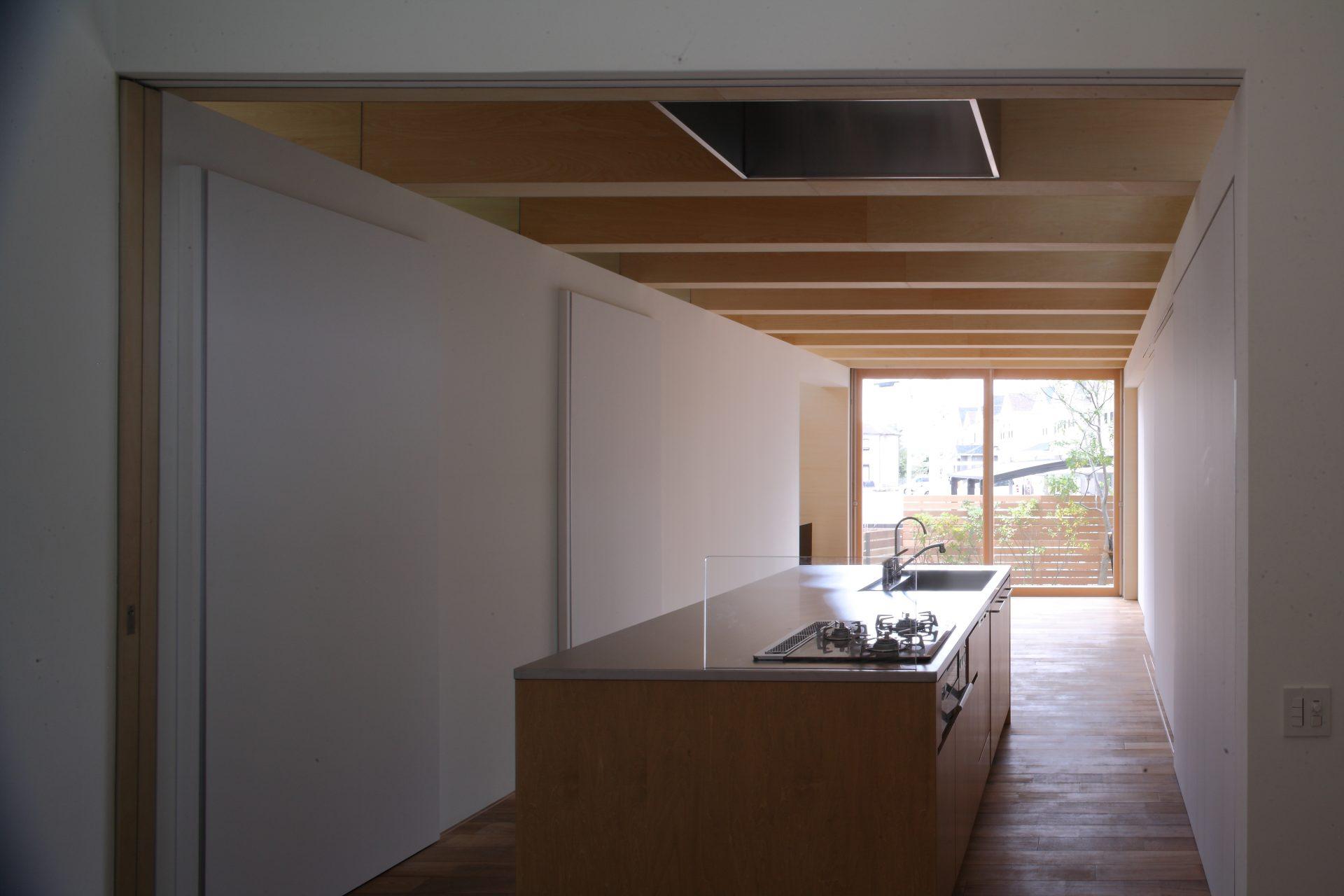 大阪北野田の家のLDK02