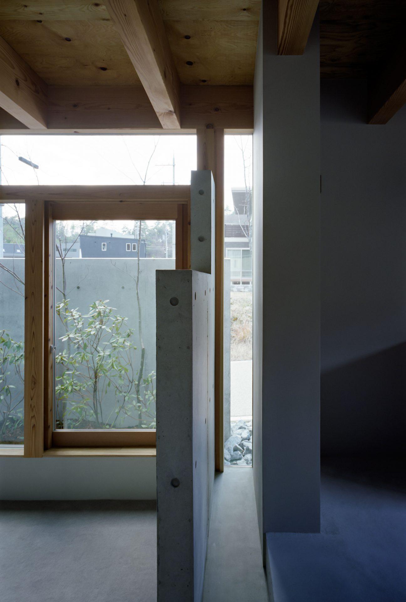 大阪箕面森町の家のリビング1