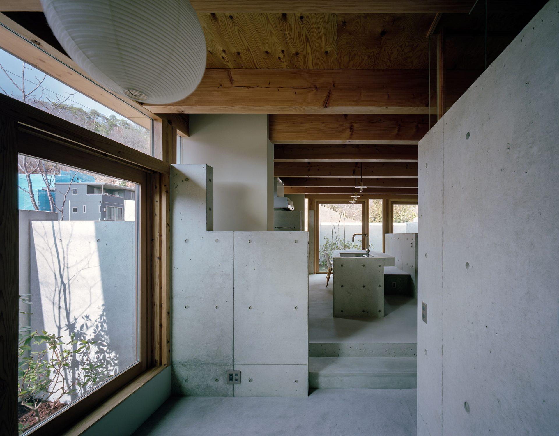 大阪箕面森町の家のリビング2