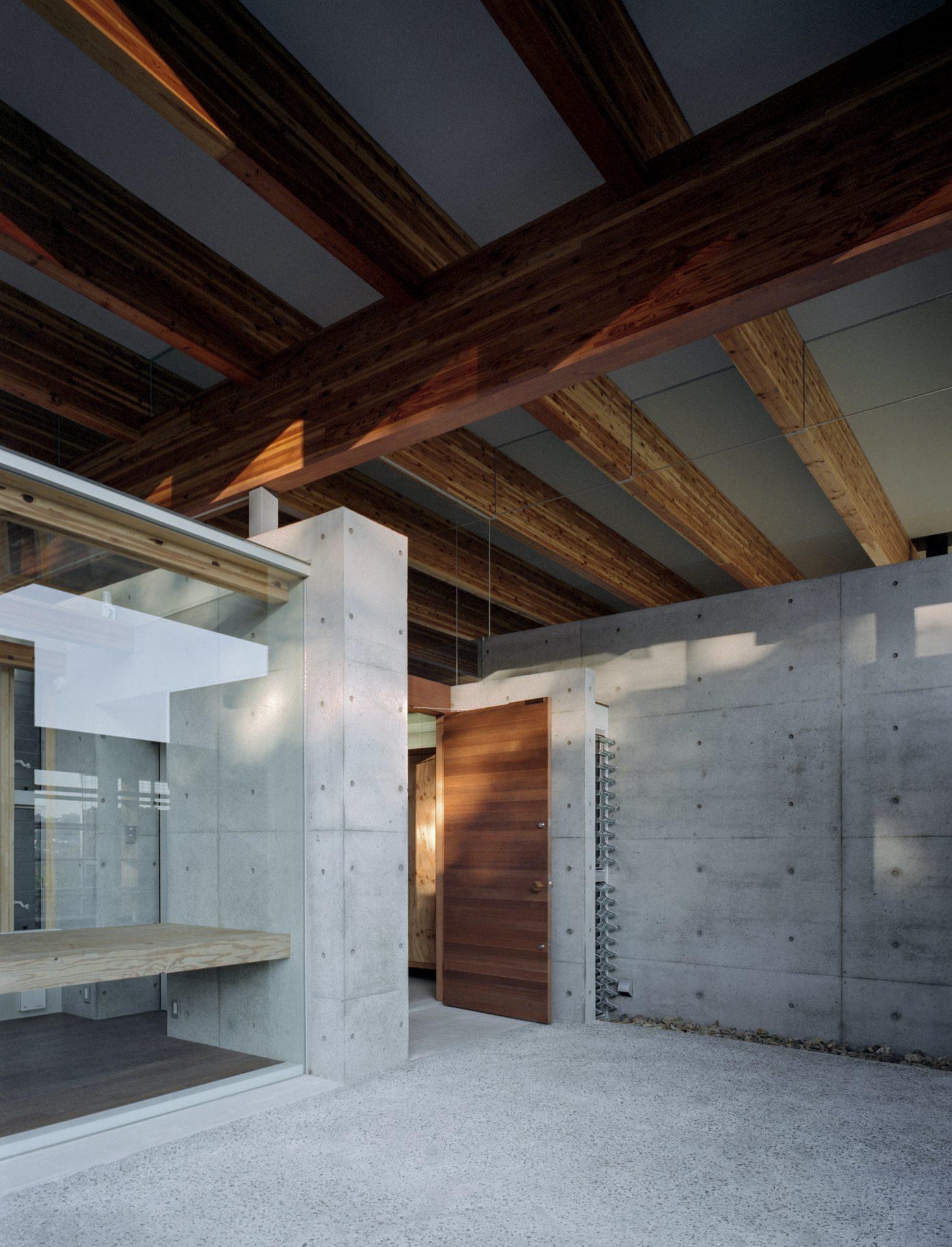 兵庫神戸北の平屋の玄関