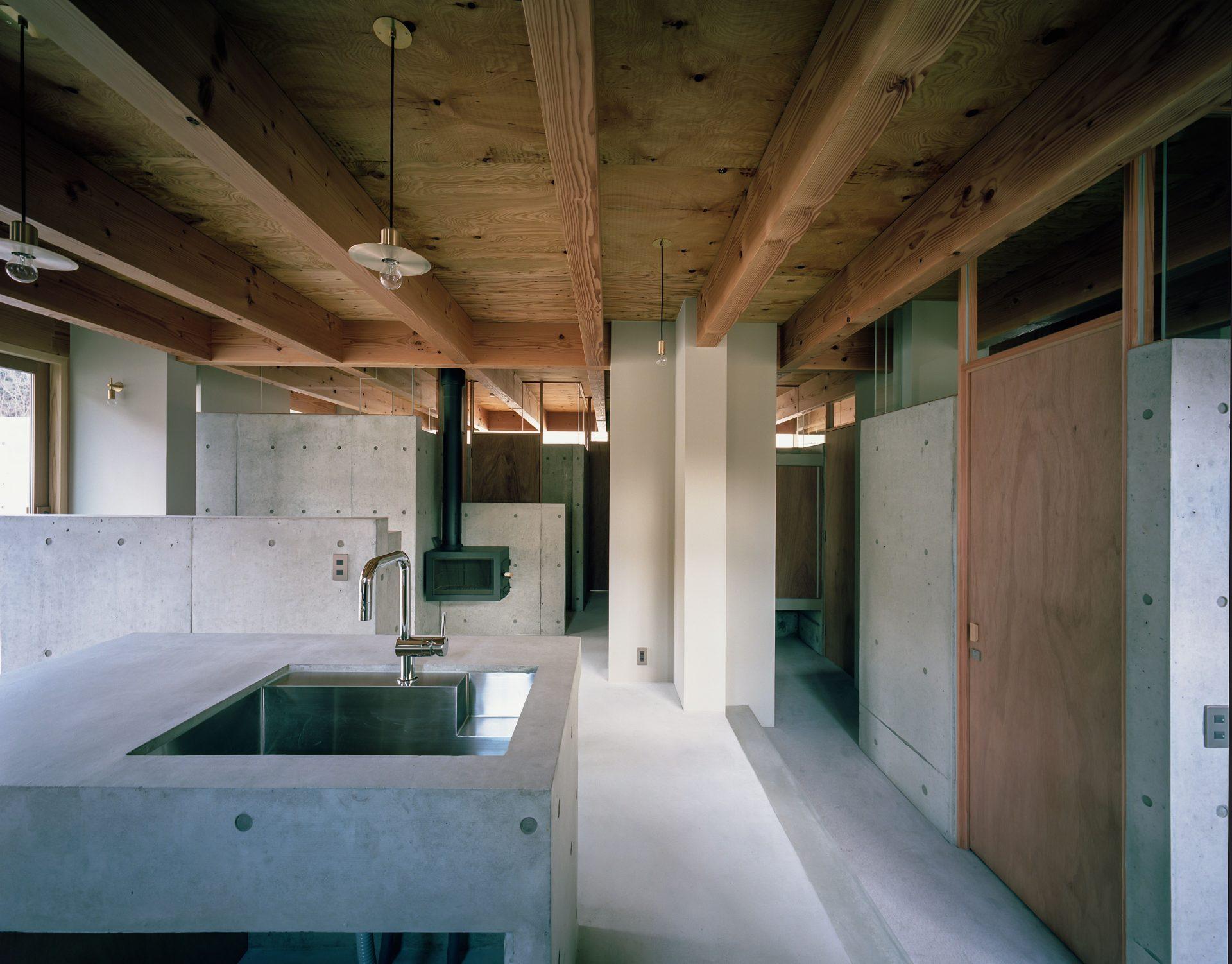 大阪箕面森町の家のキッチン2