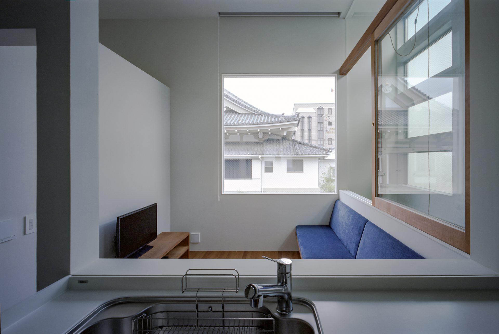 大阪上本町の家のキッチン02