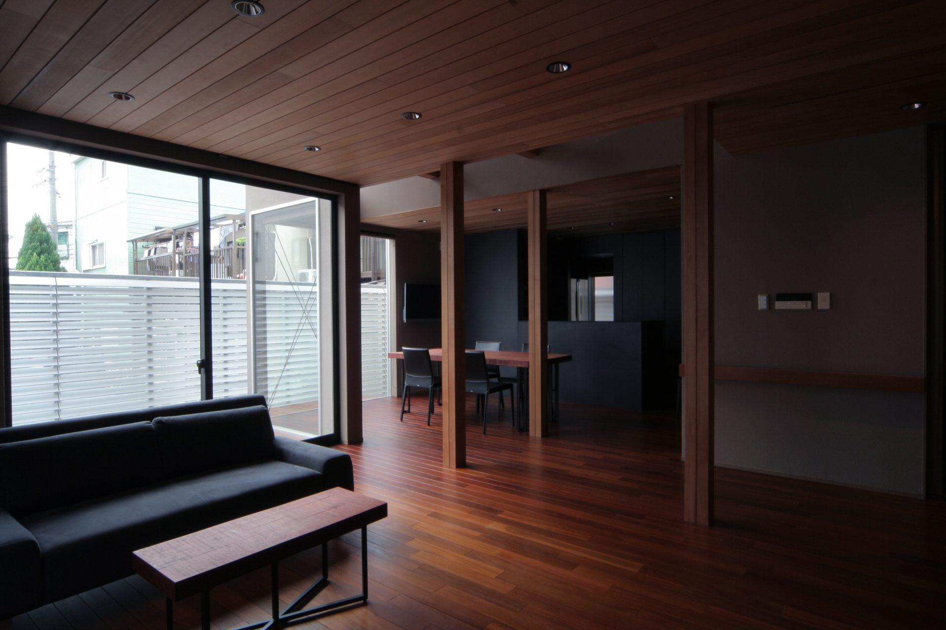 大阪弥刀の家のLDK02