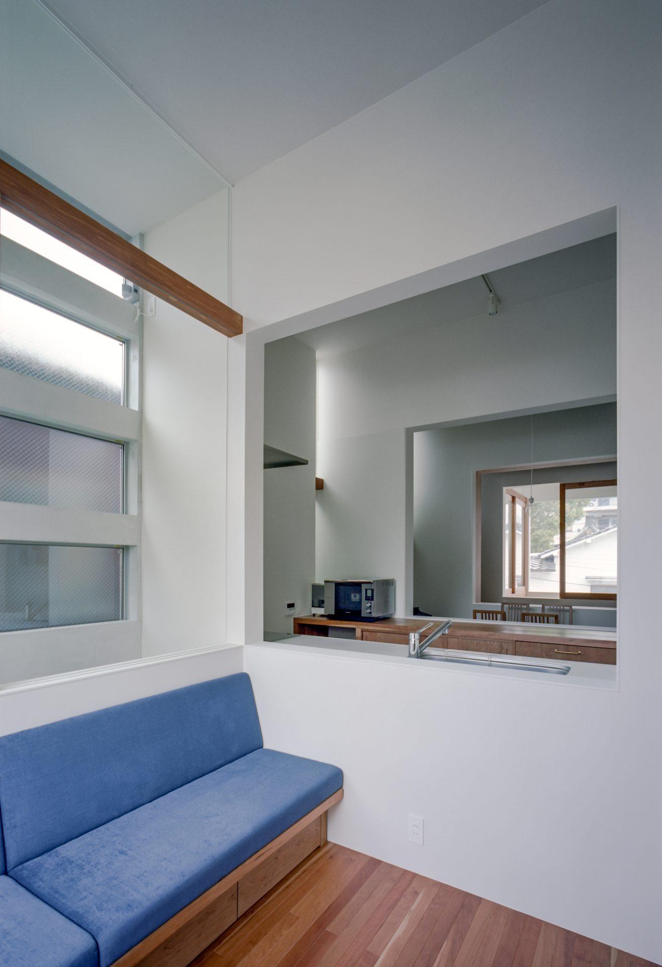 大阪上本町の家のリビング02
