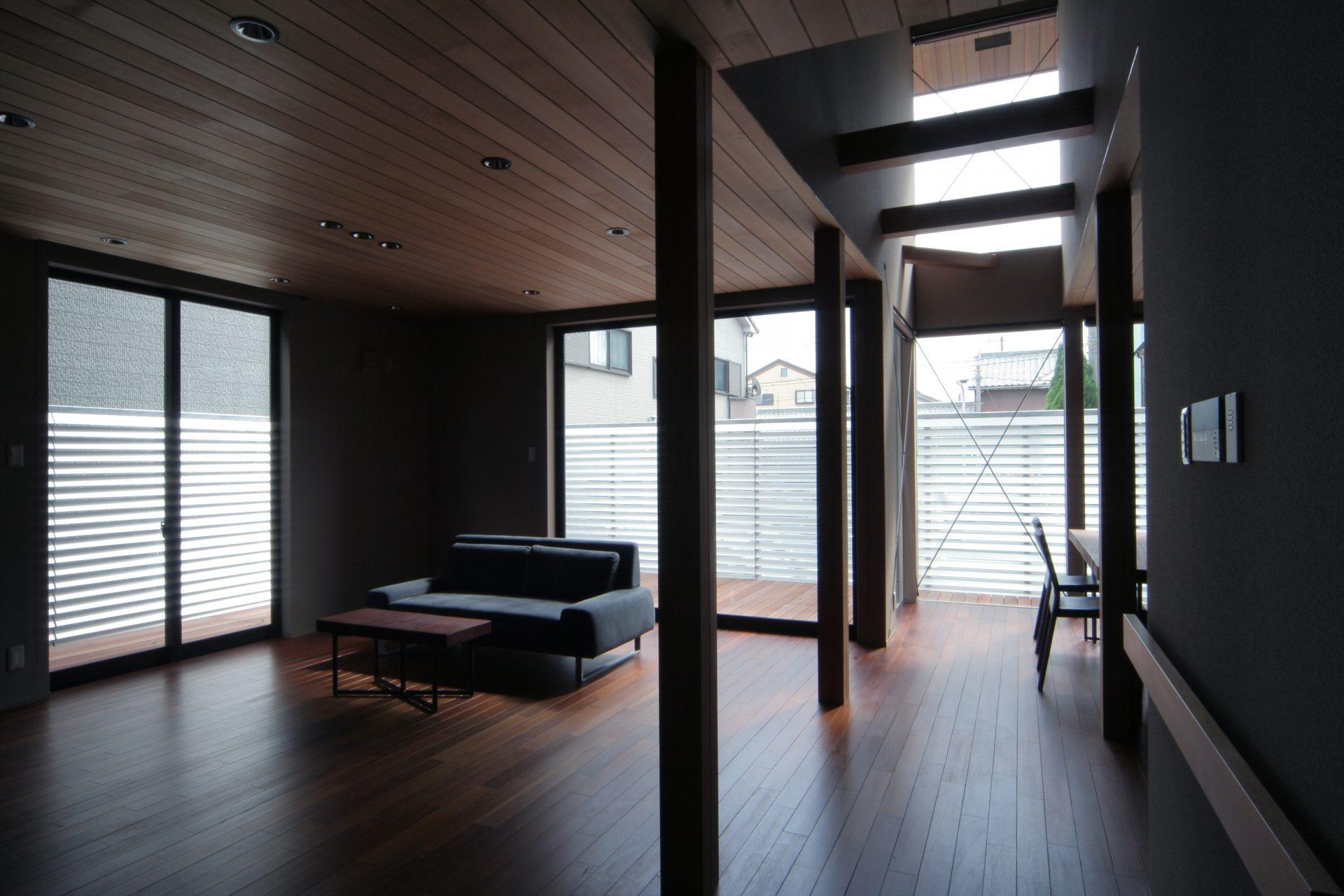 大阪弥刀の家のLDK03