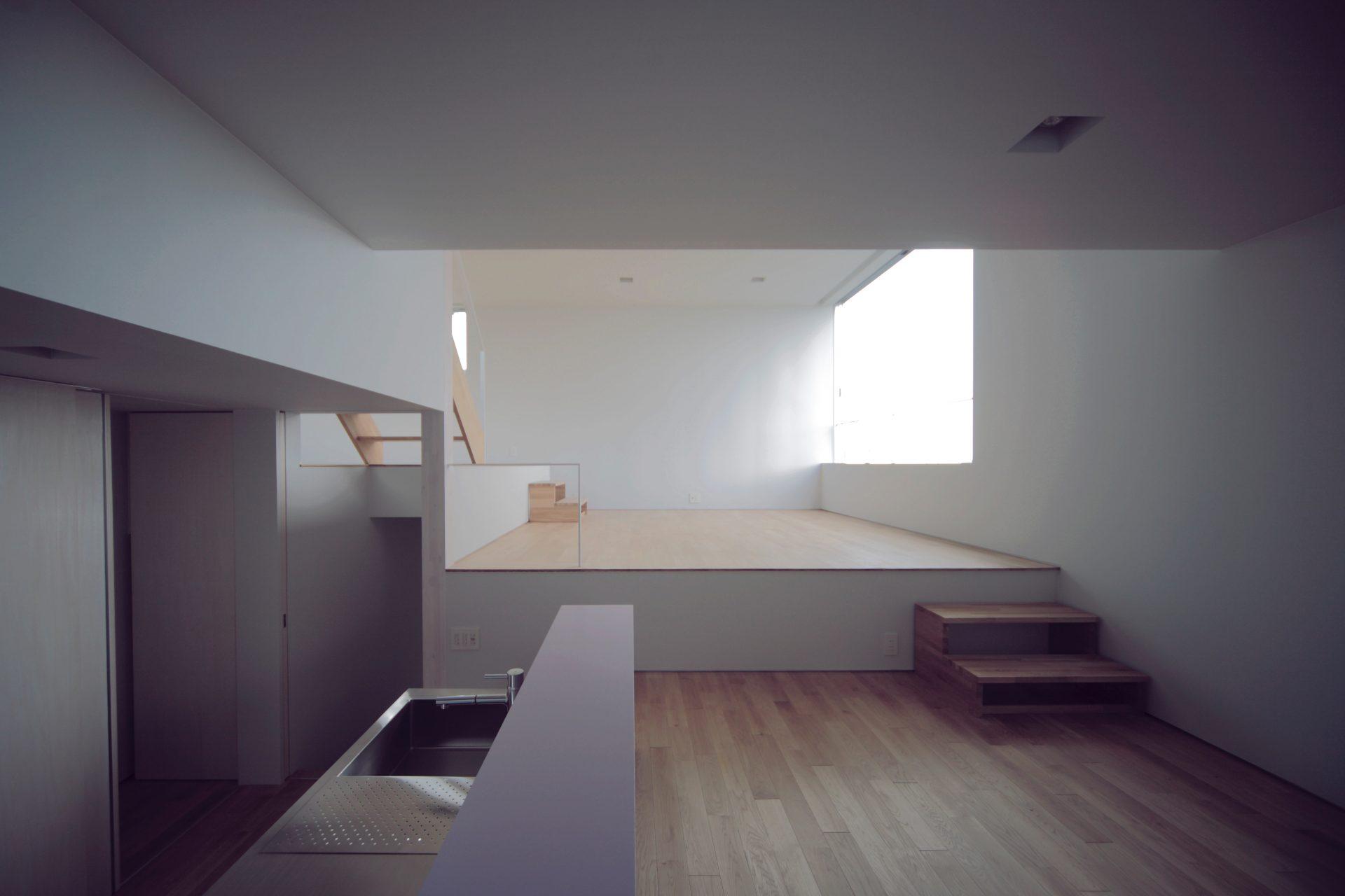 大阪香里園の家のダイニングキッチン02